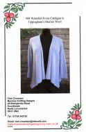 Clair Crowston Waterfall Front Cardigan  No. 84