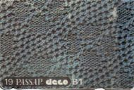 Deco Punchcard 19