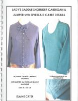 Lady's Saddle Shoulder Cardigan & Jumper. E Cater