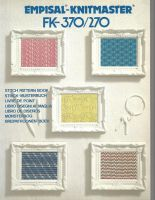 Silver Reed/Knitmaster Fine Gauge Stitch Pattern Book