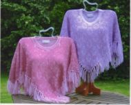 In Ex Thread Lace Poncho