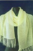 Tuck Lace Scarf