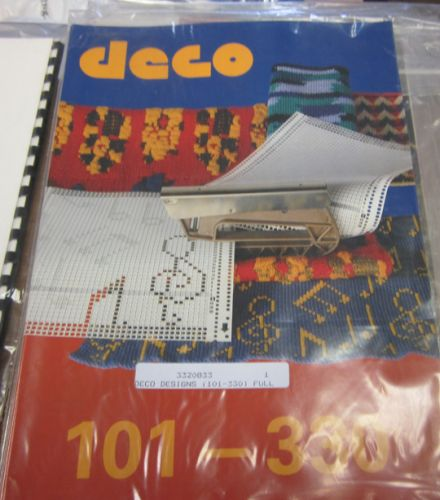 Passap Duo Deco Pattern Book