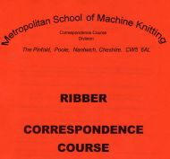 Overseas Part B Ribber Course