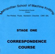 U.K. Stage 1 Course for Single Bed Machines